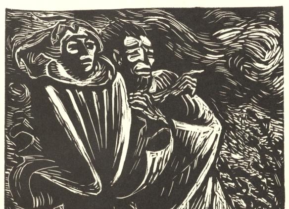Faust und Mephistopheles II aus dem Buch 'Walpurgisnacht' TEIL